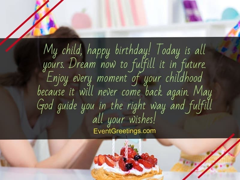 Cute Birthday Messages For Kids