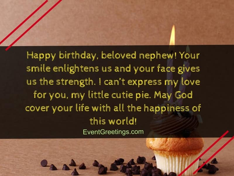 60 Exclusive Happy Birthday Nephew Wishes And Quotes With Blessings