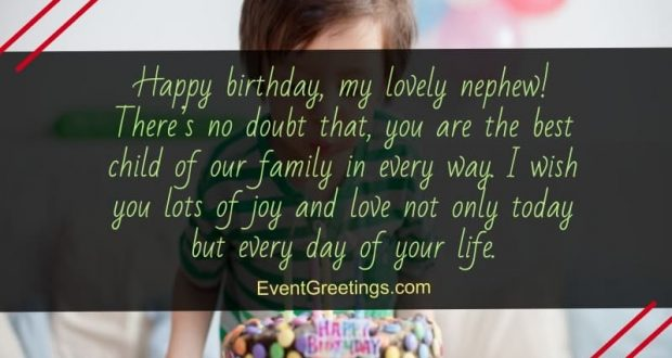 60 Exclusive Happy Birthday Wishes And Quotes For Nephew Events Greetings