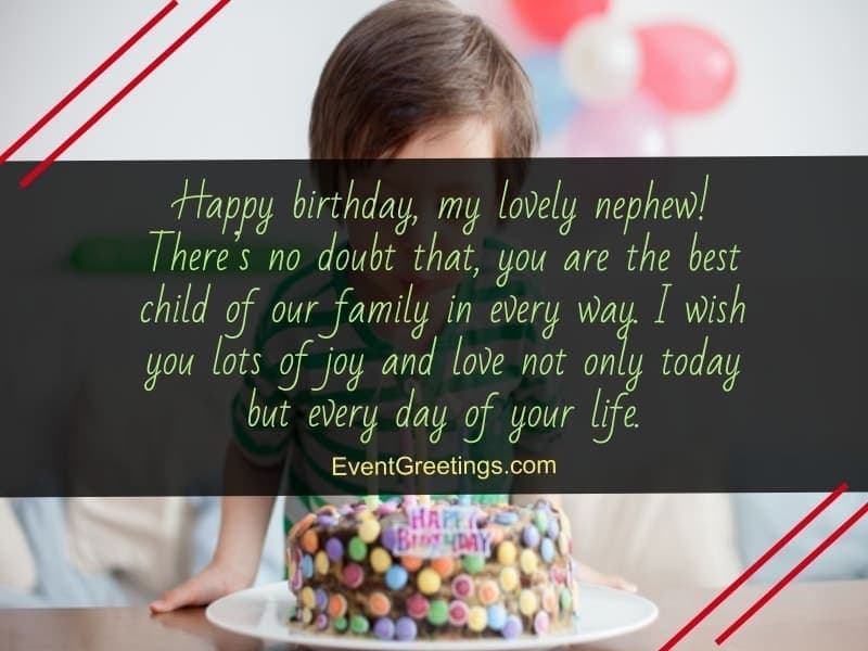 50 Exclusive Happy Birthday Wishes And Quotes For Nephew Events