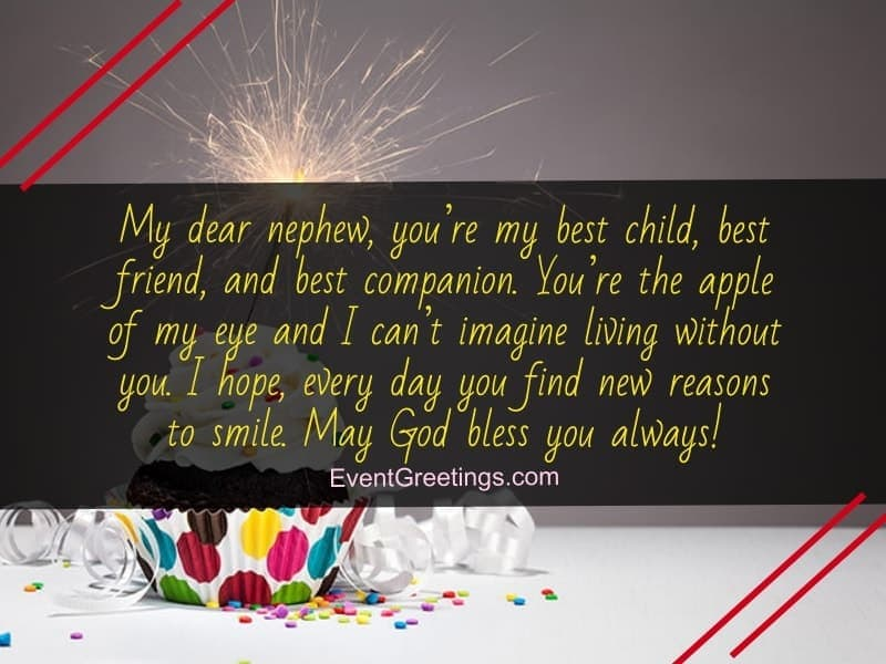 60 Exclusive Happy Birthday Wishes And Quotes For Nephew Events