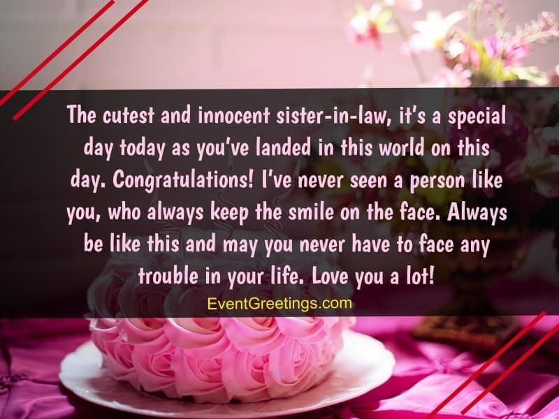 45 Best Birthday Wishes And Quotes For Sister In Law To Express