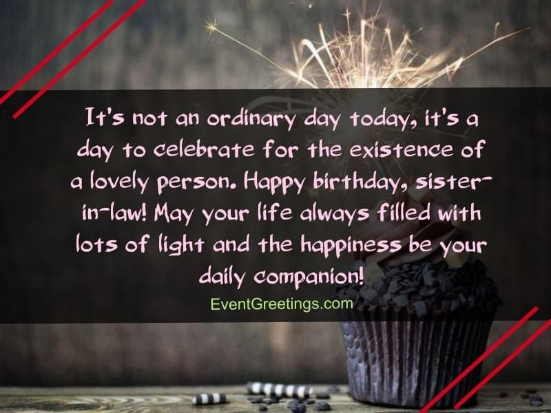 45 Best Birthday Wishes And Quotes for Sister In Law To Express  Unconditional Love
