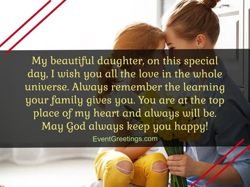 beautiful birthday quotes for daughter from mother