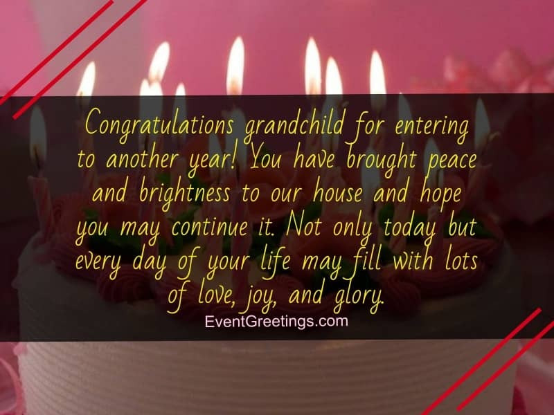 Happy Birthday Wishes For Your Grandson