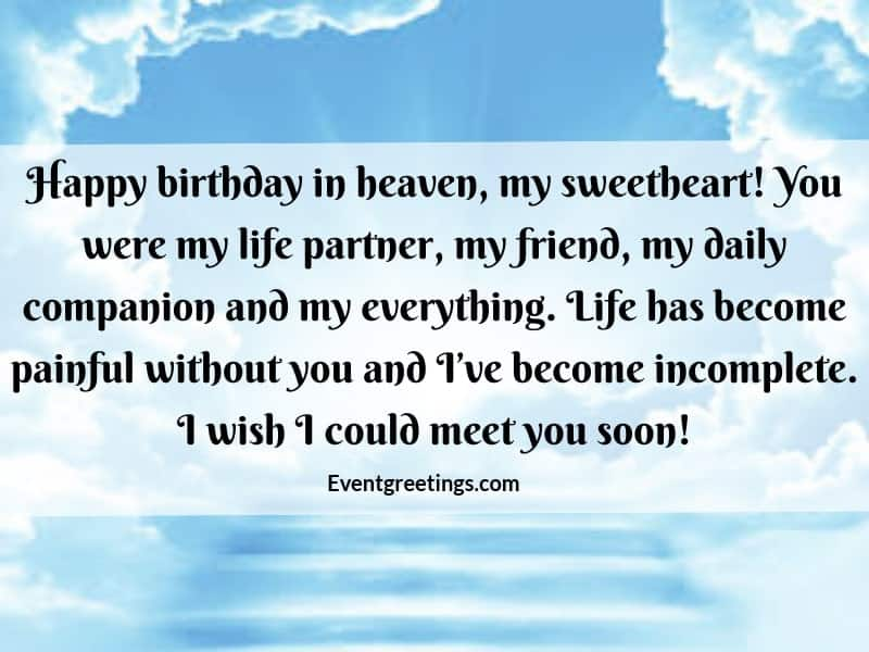 50 Best Happy Birthday In Heaven Quotes With Respect Love