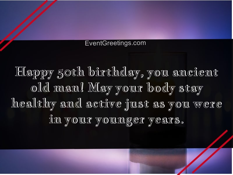70 Amazing 50th Birthday Wishes And Messages With Love