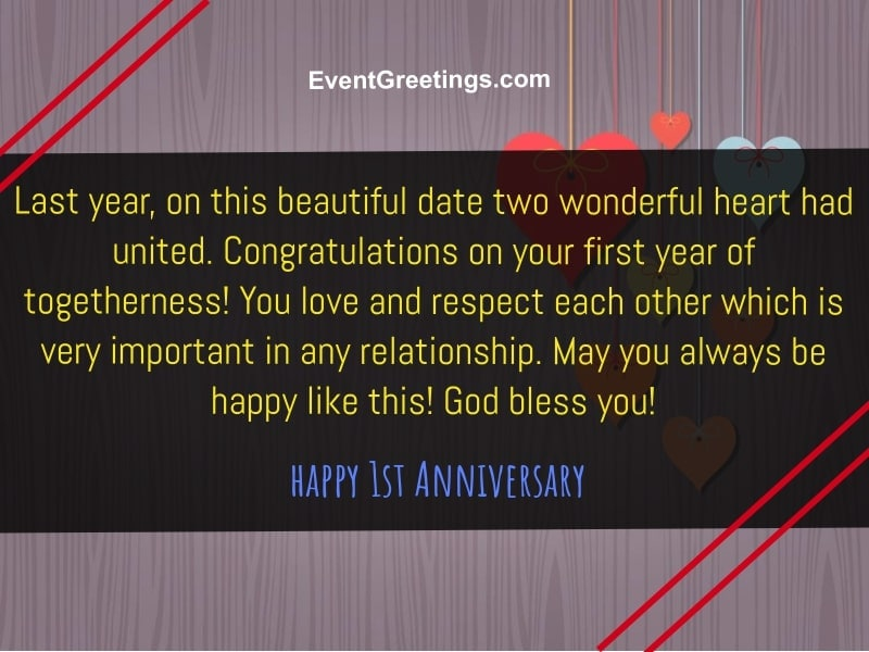 35 Best Happy 1 Year Anniversary Quotes And Images