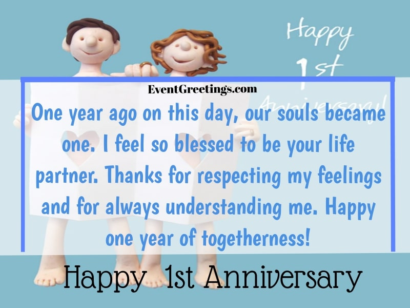 One year dating anniversary love quotes