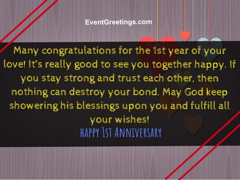 Anniversary Quotes For Her | 35 Best Happy 1 Year Anniversary Quotes And Images Events Greetings