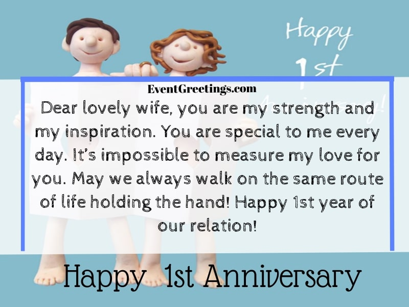 35 Best Happy 1 Year Anniversary Quotes And Images Events Greetings