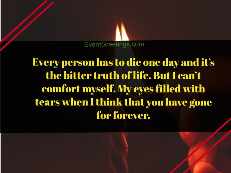 15 Emotional 1 Year Death Anniversary Quotes To Remember ...