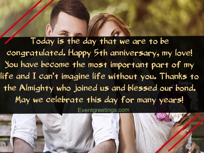 15 Best Happy 5 Year Anniversary Quotes With Images