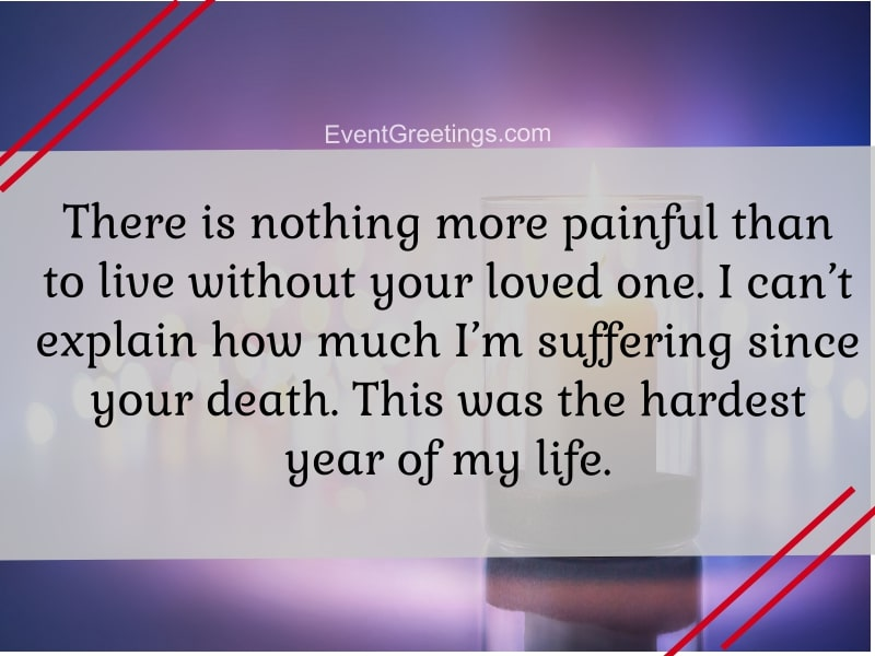 15 Emotional 1 Year Death Anniversary Quotes To Remember