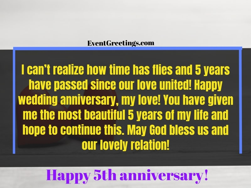 5 year anniversary quotes
