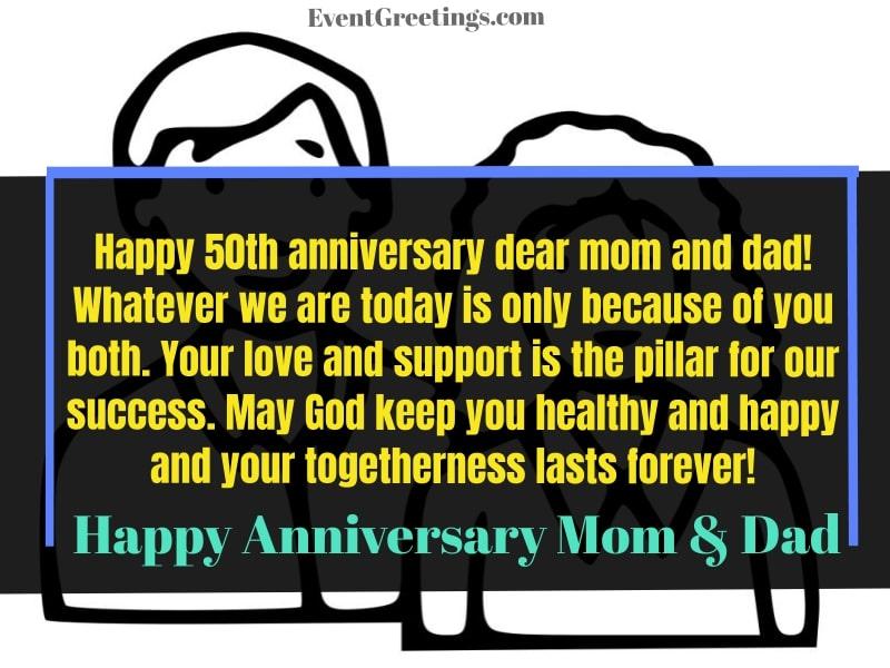 happy anniversary parents