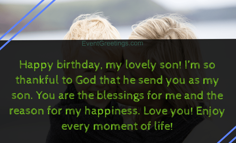 30 Best Happy Birthday Son From Mom Quotes With ...