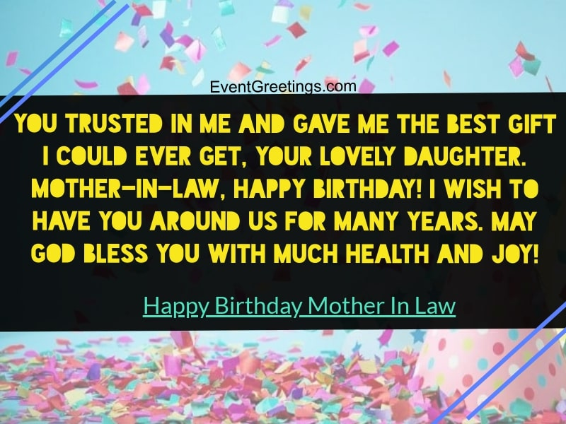 60 Awesome Happy Birthday Mother In Law Wishes With Respect And Love