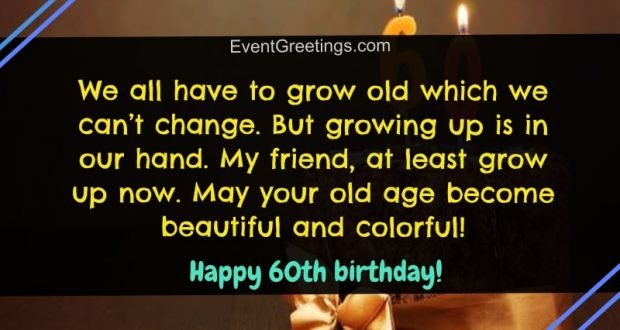 30 Best Happy 60th Birthday Wishes And Quotes For Special People Events Greetings