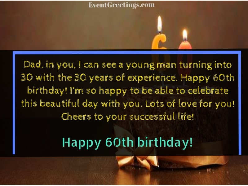 30 Best Happy 60th Birthday Wishes And Quotes For Special People