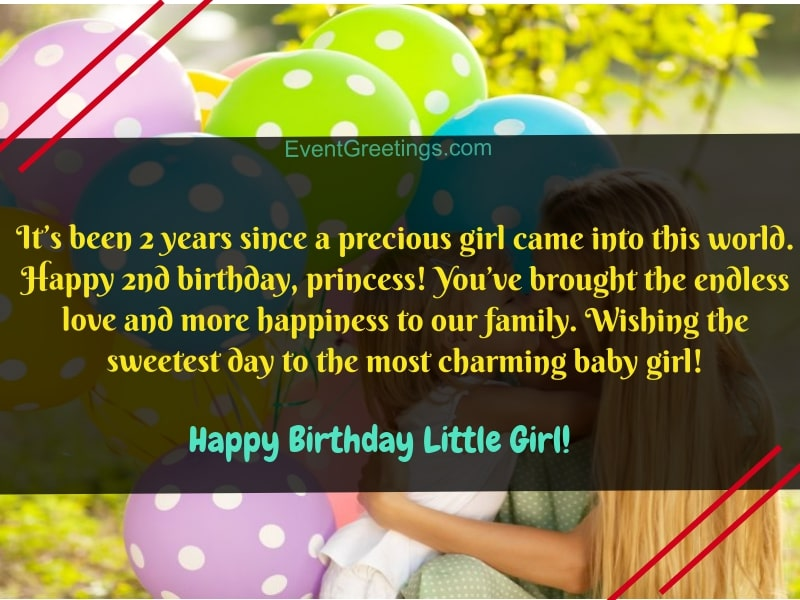 35 Cute Happy Birthday Little Girl Wishes To Make Her Special