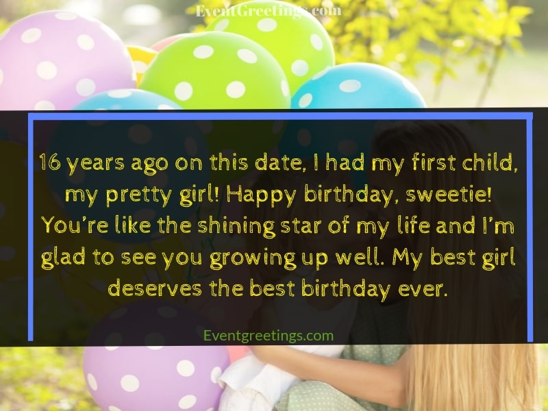 birthday wishes for girl