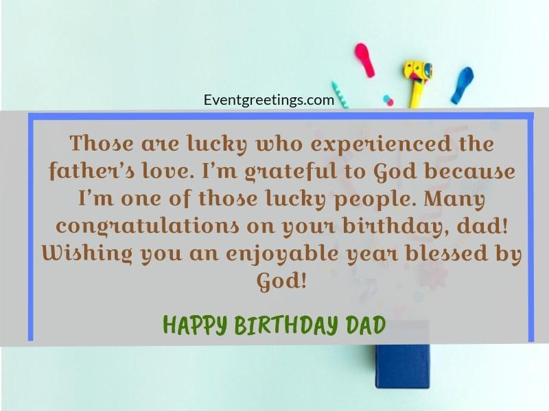 happy birthday dad images