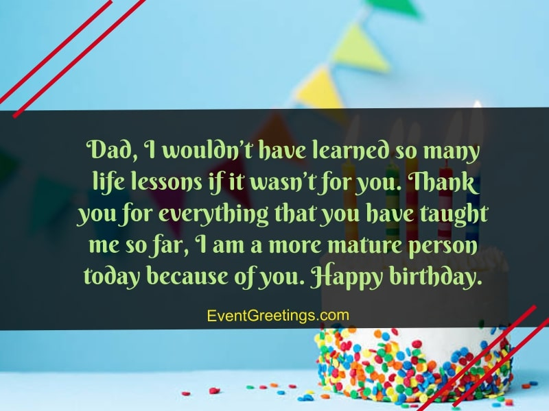 55 Best Happy Birthday Dad Quotes And Wishes With Images