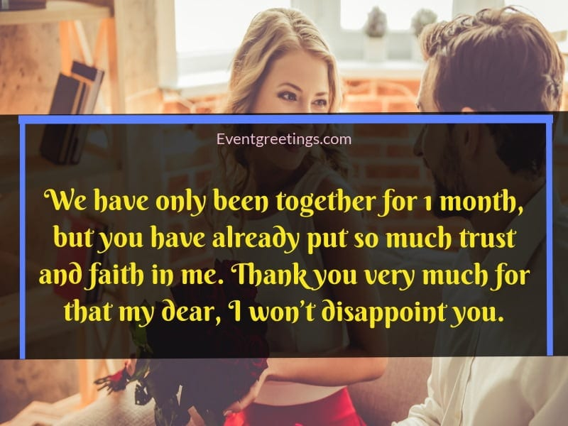 25 Amazing 1 Month Anniversary Quotes To Celebrate The ...