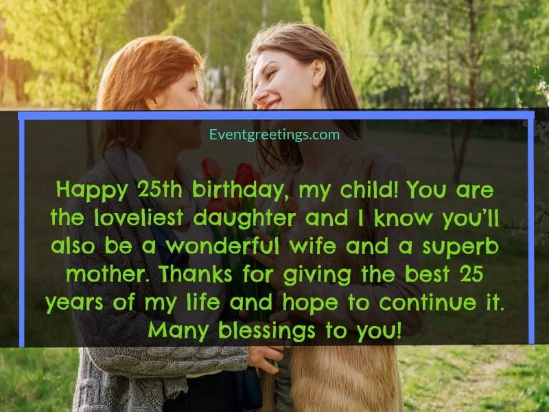 25th birthday quotes