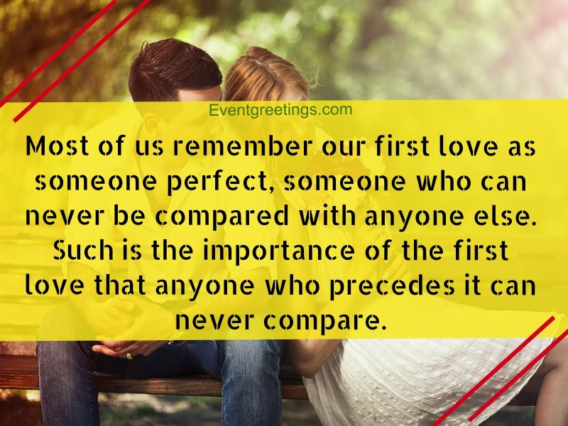 25 Romantic First Love Quotes To Express Inner Feelings