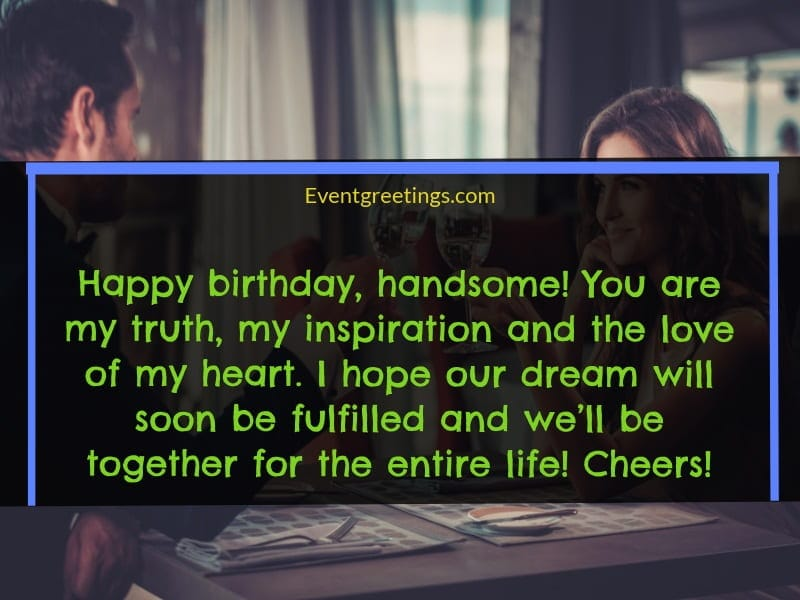 happy birthday messages for him