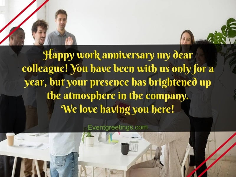 Anniversaries quotes work 20 Happy