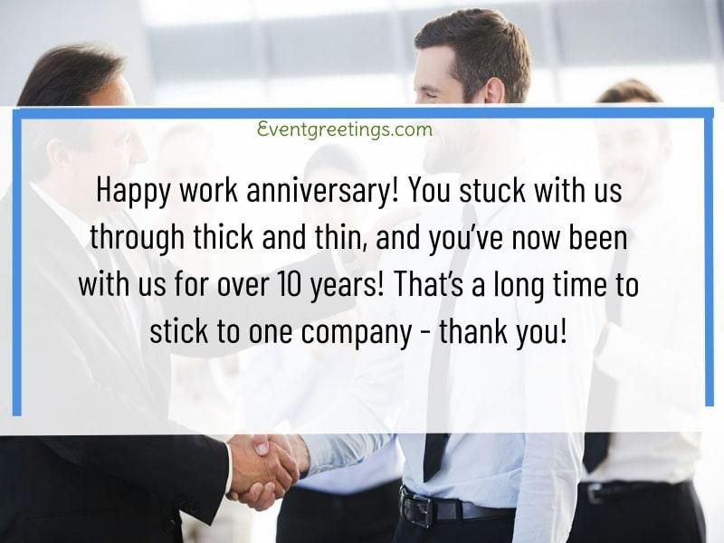 Work Anniversary
