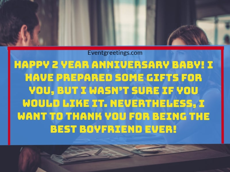 2 year anniversary quotes for boyfriend