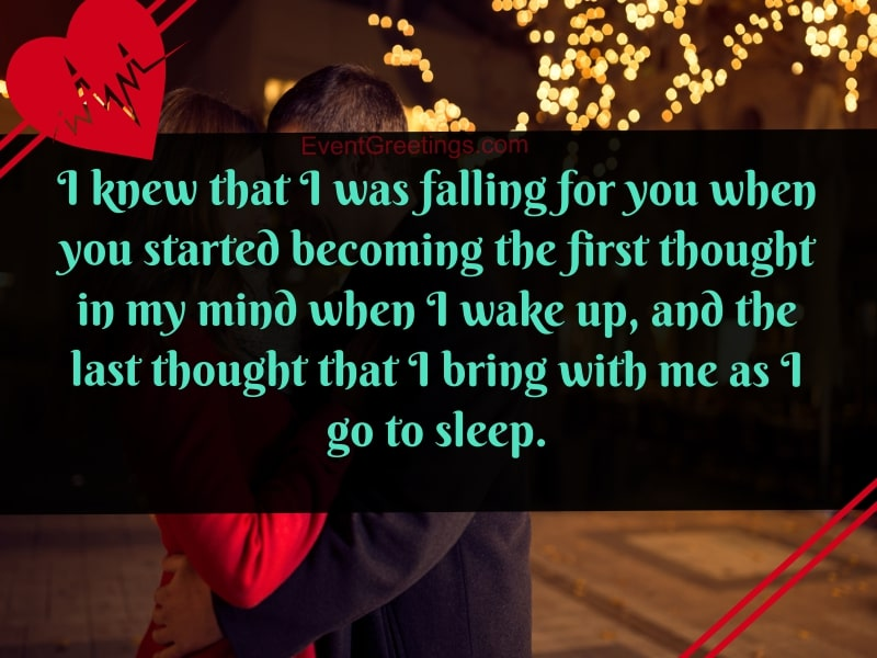 Falling For You Quotes