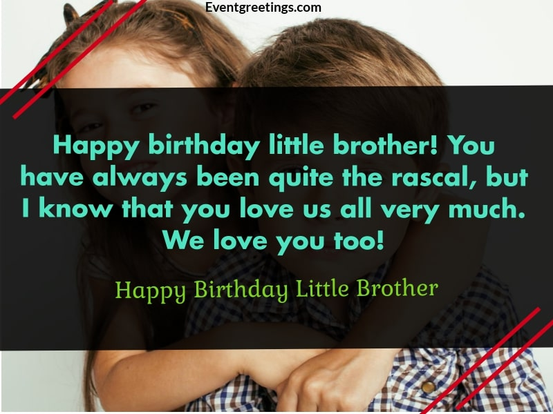 Happy Birthday Baby Brother
