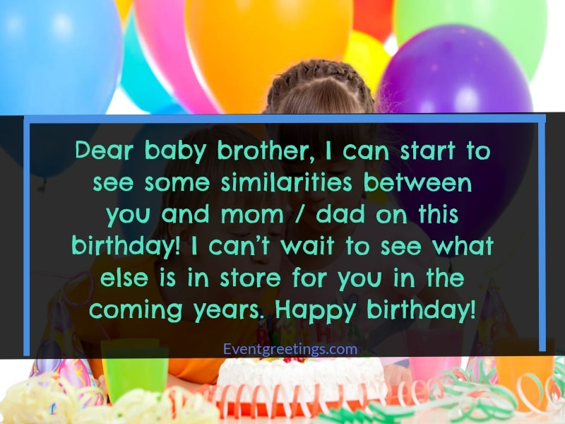 Happy Birthday My Little Brother