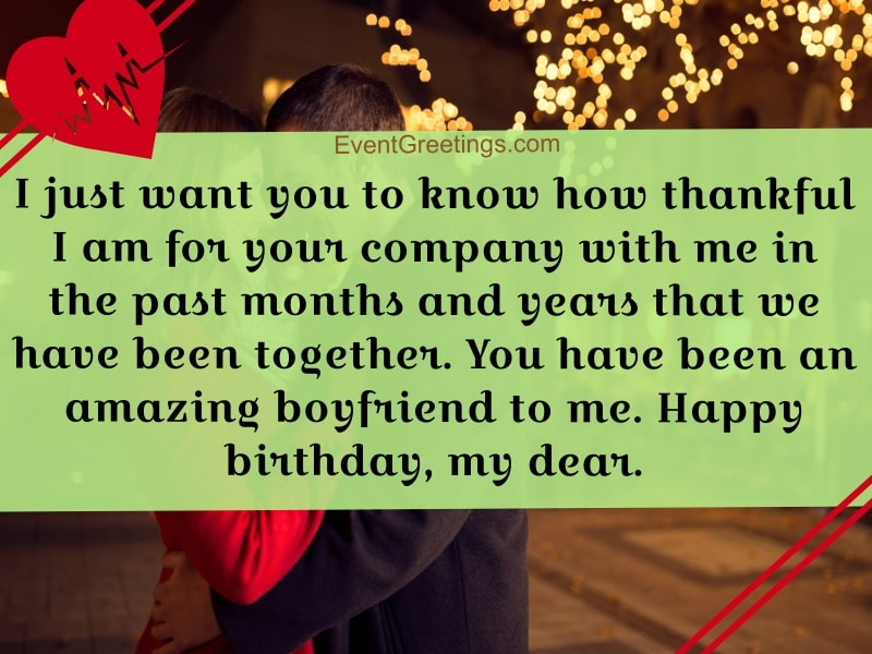 30 Romantic Birthday Wishes For Boyfriend To Make The Day