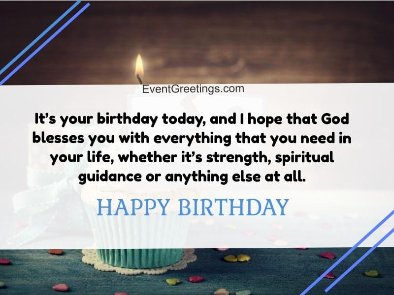 Religious Birthday Wishes