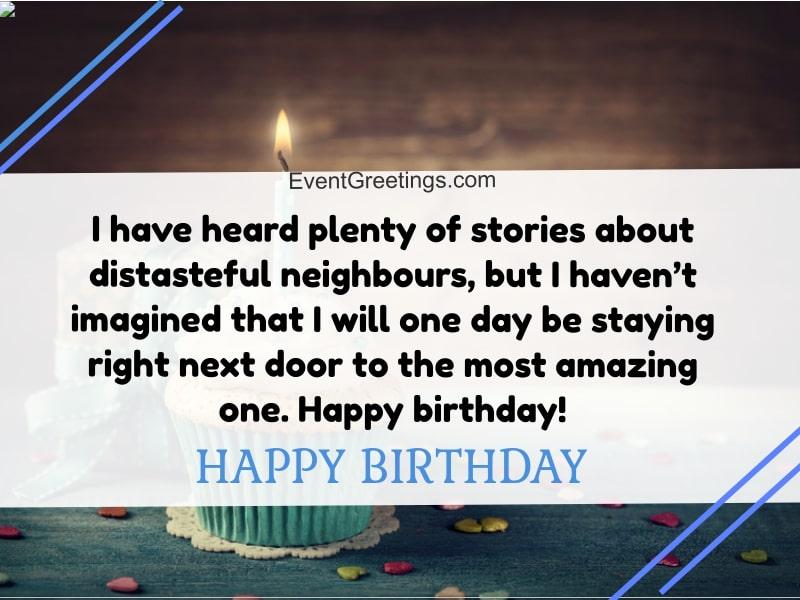 happy birthday neighbor images