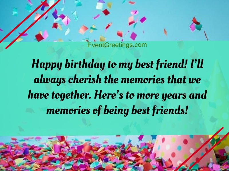 Swell 30 Exclusive Birthday Wishes For Best Friend Female Funny Birthday Cards Online Chimdamsfinfo