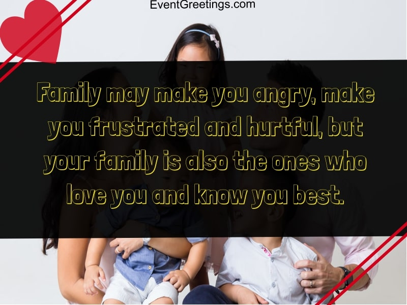 quotes about family and love