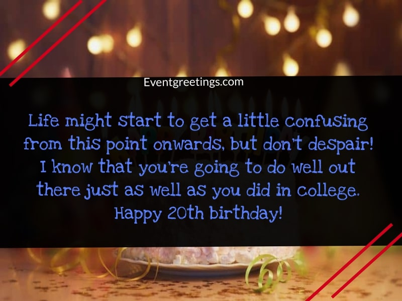20th Birthday Quotes