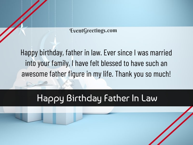 Happy Birthday Father In Law Funny