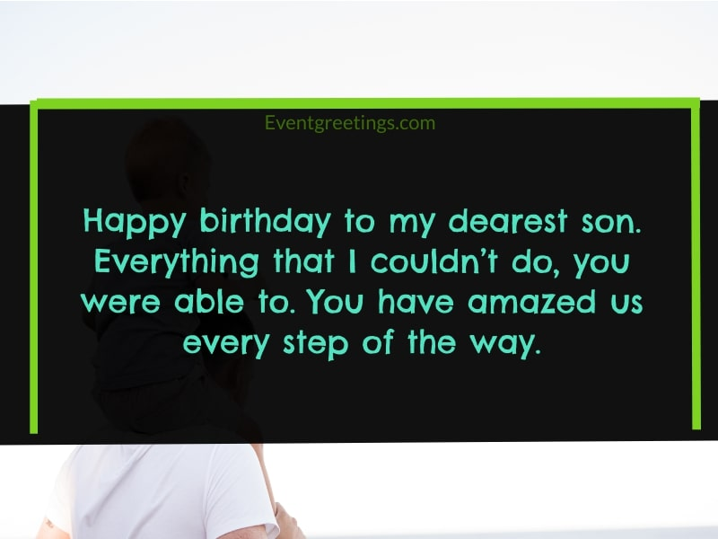 Happy Birthday Son Quotes