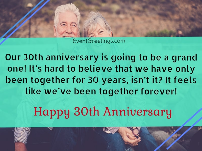 30 Year Anniversary