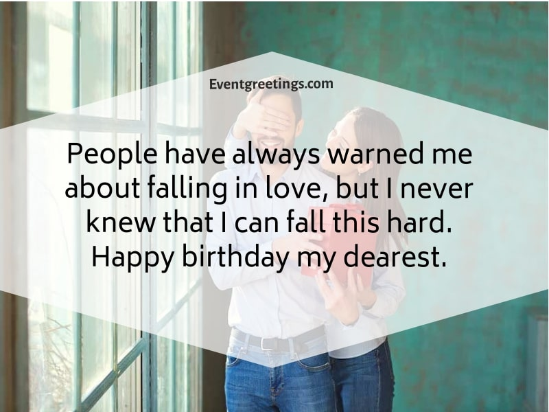 Birthday Wishes For My Love