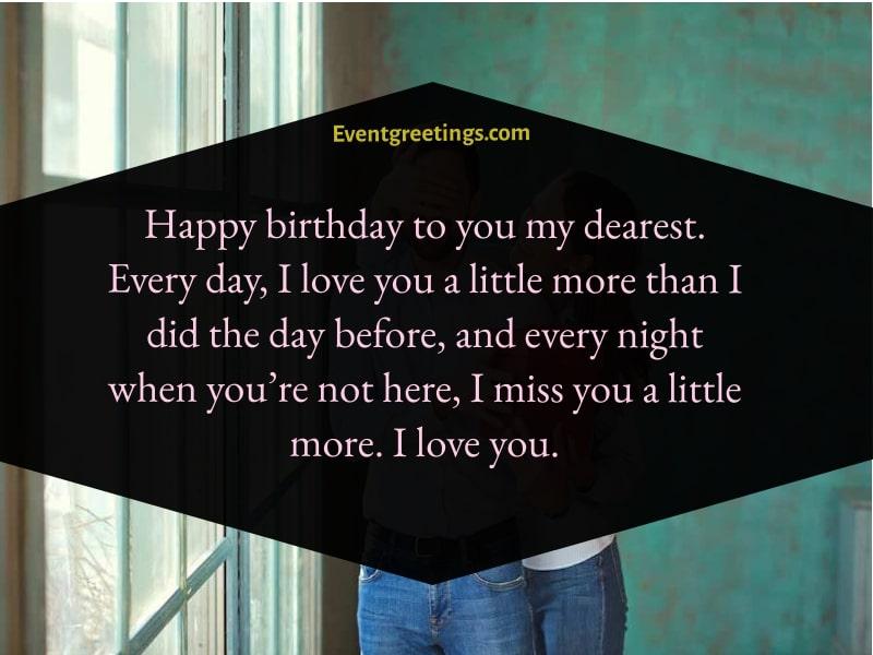 Happy Birthday My Love Quotes