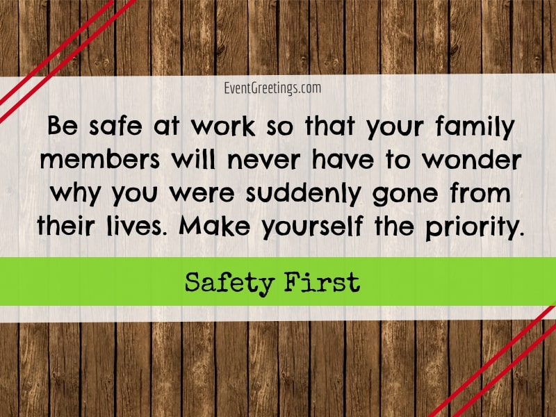 Funny Safety Quotes